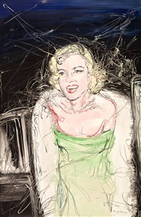 marilyn by zeng fanzhi