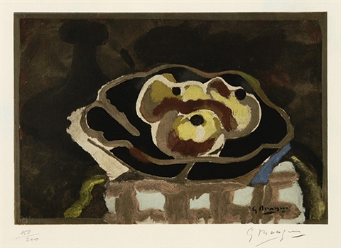 coupe de fruits by georges braque