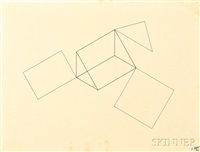 untitled (line geometries) by robert morris