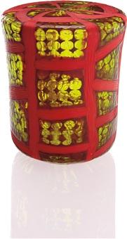 unique finestre a mosaico e con polvere vase by yoichi ohira