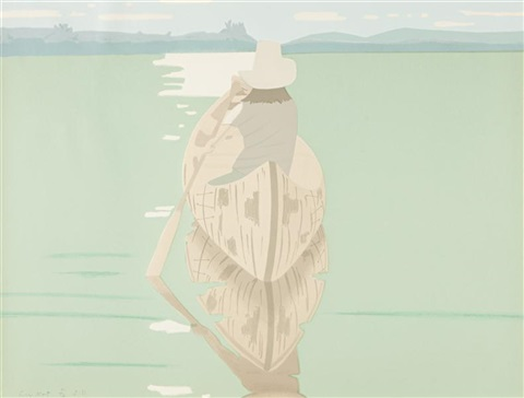 good afternoon by alex katz