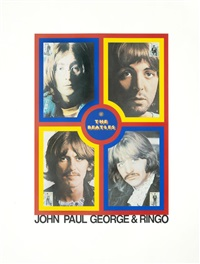 t is for the beatles by peter blake