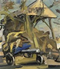 the hayloft by jan van der zee
