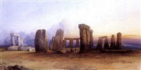 stonehenge at sunset by j. c. sammons