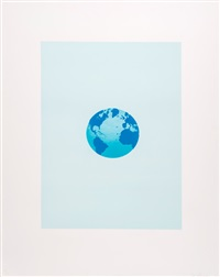 the world and its surroundings by ed ruscha