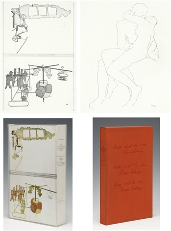 the large glass and related works set of 18 by marcel duchamp