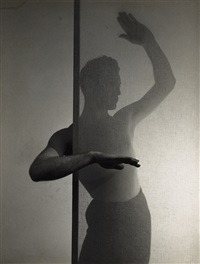 lyrical study of the dancer john george (+ 3 others; 4 works) by minor white