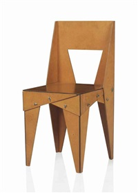 A RARE WING NUT CHAIR