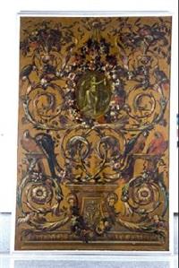 alegoria de américa by jose del castillo y guillermo de anglois