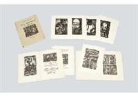 reincarnations du pere ubu (portfolio of 87 works) by georges rouault
