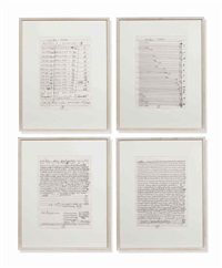 untitled (brief) by hanne darboven