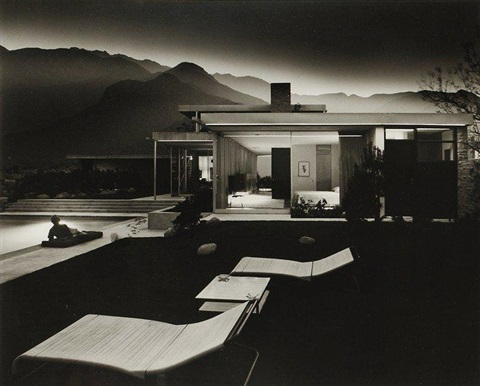 house of edgar kaufmann richard neutra colorado desert palm springs by julius shulman