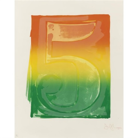 figure 5 by jasper johns