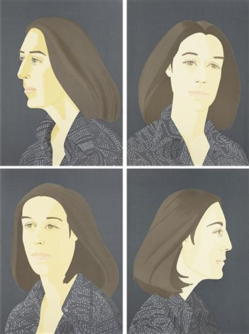 ada four times series set of 4 by alex katz