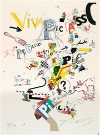 hommage à picasso, viva picasso by jean tinguely