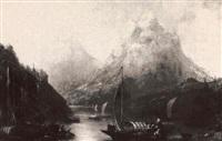 lake como by g.s. herbert