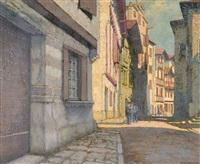 ciboure, la rue pocalette by pierre labrouche