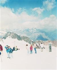 pitztal gletscher ii (from reservate des augenblicks) (in 2 parts) by walter niedermayr