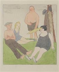 sommerfrischler (es lebe die freiheit) by karl august arnold