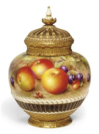 pot-pourri vase and cover by harry ayrton