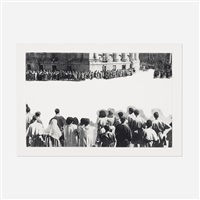crowds with shape of reason missing, example 4 by john baldessari
