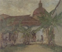 mexican quarters, cuernavaca by helen maria turner