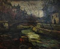 la seine à l'ile saint louis by elemer vagh-weinmann