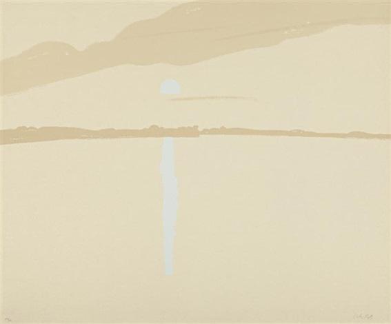 sunset lake wassernutt 3 by alex katz