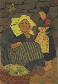 la marchande de poires by paul sérusier