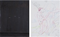 three (+ untitled; 2 works) by spencer sweeney