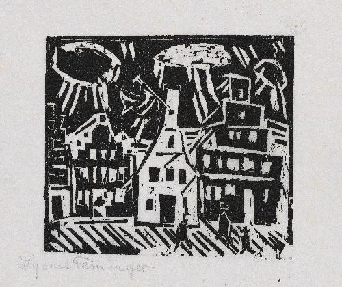 kleinstadt by lyonel feininger