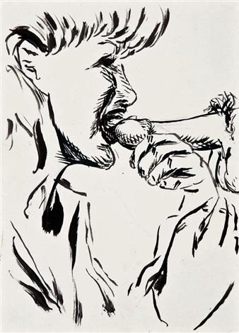 untitled (drawing) by raymond pettibon