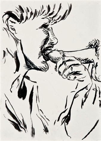 untitled drawing by raymond pettibon