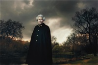 queen elizabeth ii, buckingham palace, london by annie leibovitz