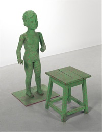 untitled (child mannequin) by yayoi kusama