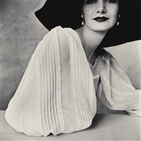 large sleeve (sunny harnett), new york, 1951 by irving penn
