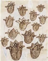untitled (tulips) by donald baechler