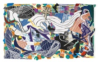 monstrous pictures of whales by frank stella
