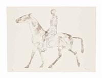 the grey rider by elisabeth frink
