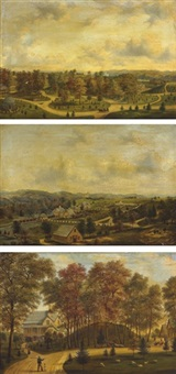 three views of springside by henry c. gritten