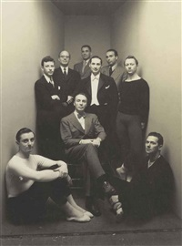balanchine and members of american ballet theater, 1948 by irving penn