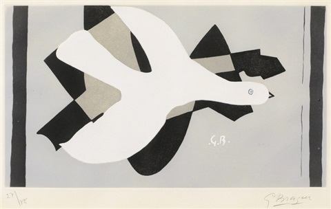 loiseau et son ombre iii by georges braque