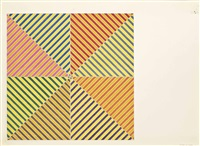 sidi ifni, from: hommage à picasso by frank stella