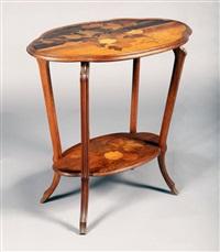 table d'appoint by émile gallé