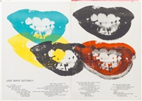marilyn monroe i love your kiss forever forever by andy warhol