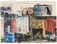 vamp (from marrakitch) by robert rauschenberg
