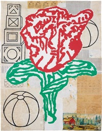 andre's flower no. 4 by donald baechler