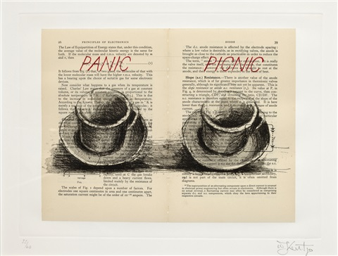 panicpicnic from sleeping on glass by william kentridge