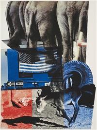 hillary rodham clinton campaign print by robert rauschenberg
