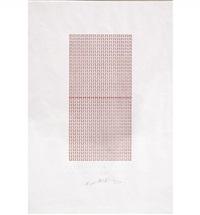 il lit en juin 1985, projet pour une architecture by henri chopin